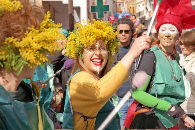 Mostra of Thymiana carnaval Chios