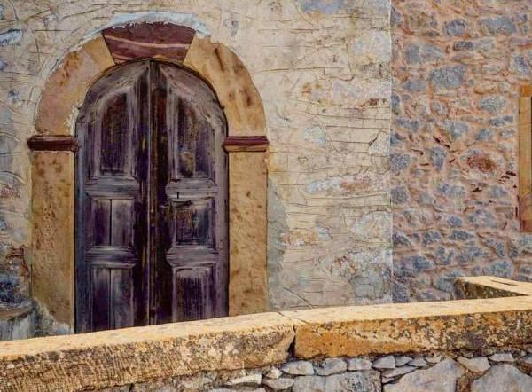 Vessa village in Chios