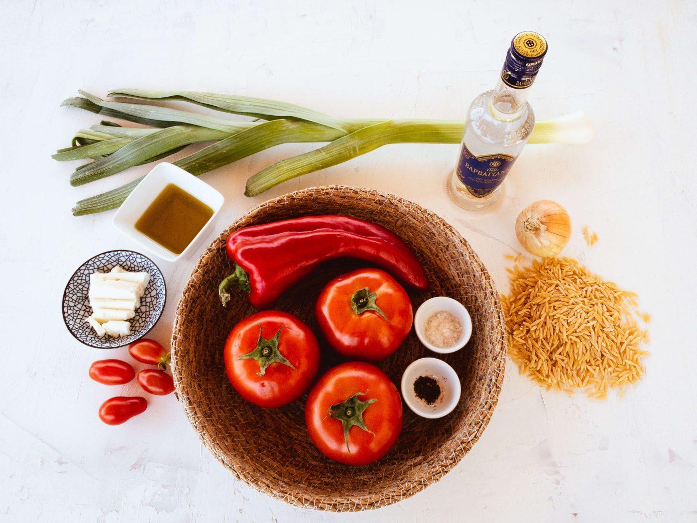 ingredients list greek orzo | alios tours