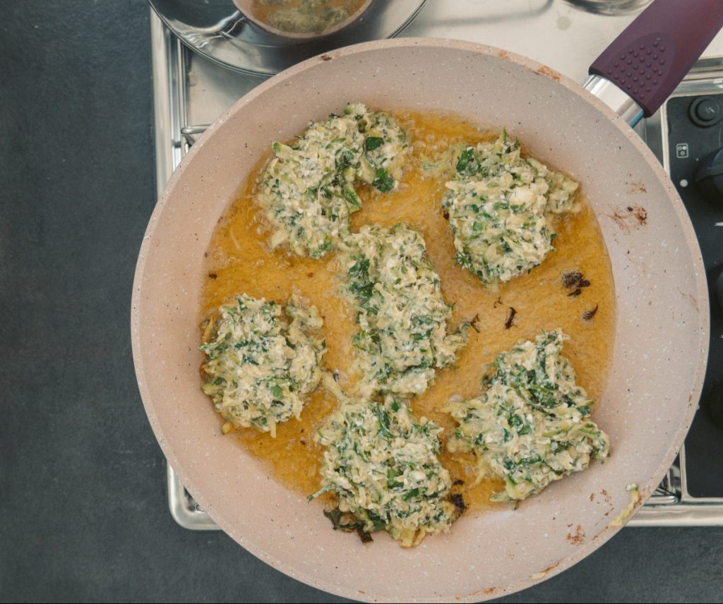 greek zucchini balls | alios tours