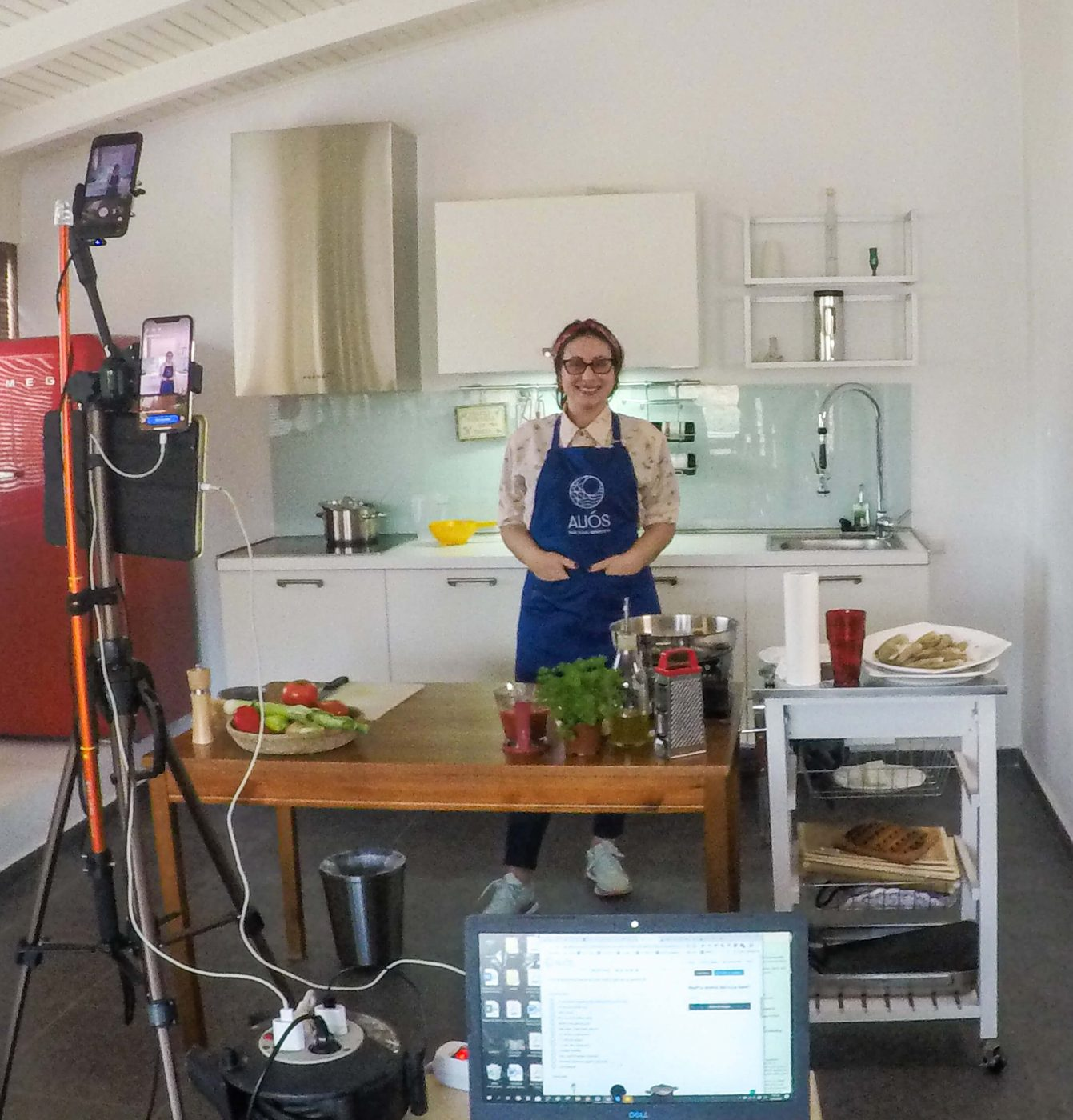 greek online cooking class | alios tours